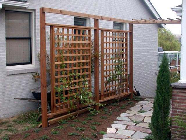 Image Gallery Wood Trellis